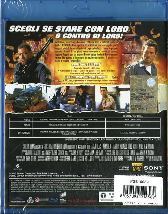 Blindato (Blu-ray) di Nimród Antal - Blu-ray - 7