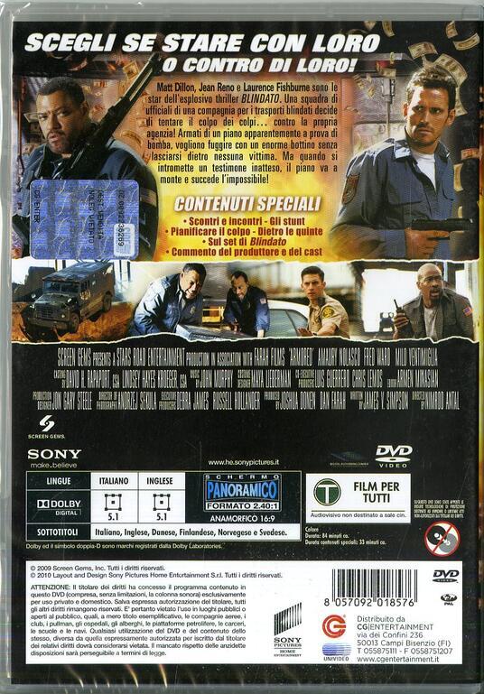 Blindato (DVD) di Nimród Antal - DVD - 7