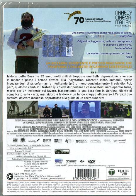 Easy. Un viaggio facile facile (DVD) di Andrea Magnani - DVD - 7