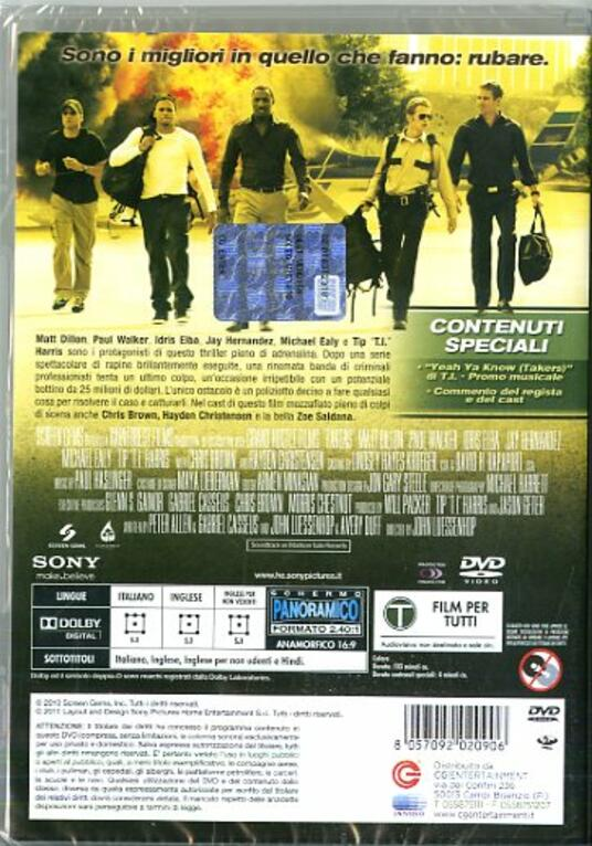Takers (DVD) di John Luessenhop - DVD - 7
