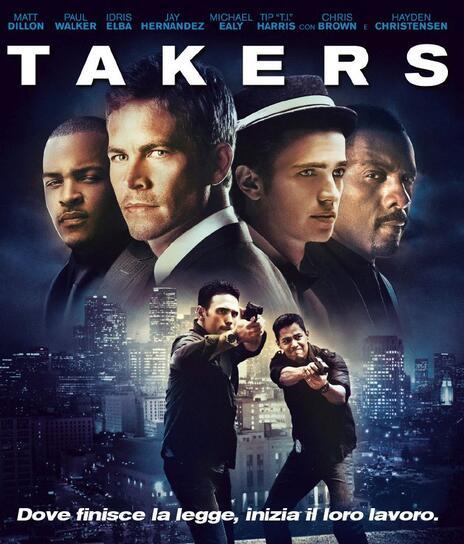 Takers (Blu-ray) di John Luessenhop - Blu-ray