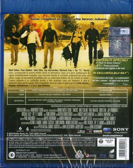 Takers (Blu-ray) di John Luessenhop - Blu-ray - 7