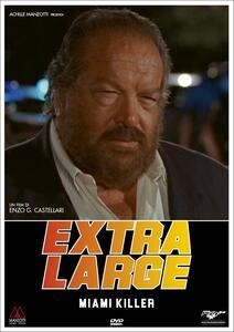 Detective Extralarge. Miami killer (DVD) di Enzo G. Castellari - DVD