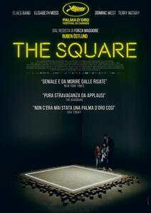 The Square (Blu-ray) di Ruben Östlund - Blu-ray