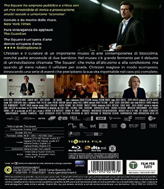 The Square (Blu-ray) di Ruben Östlund - Blu-ray - 7