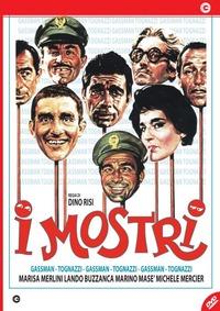 Cover Dvd I mostri. Nuova edizione (DVD)
