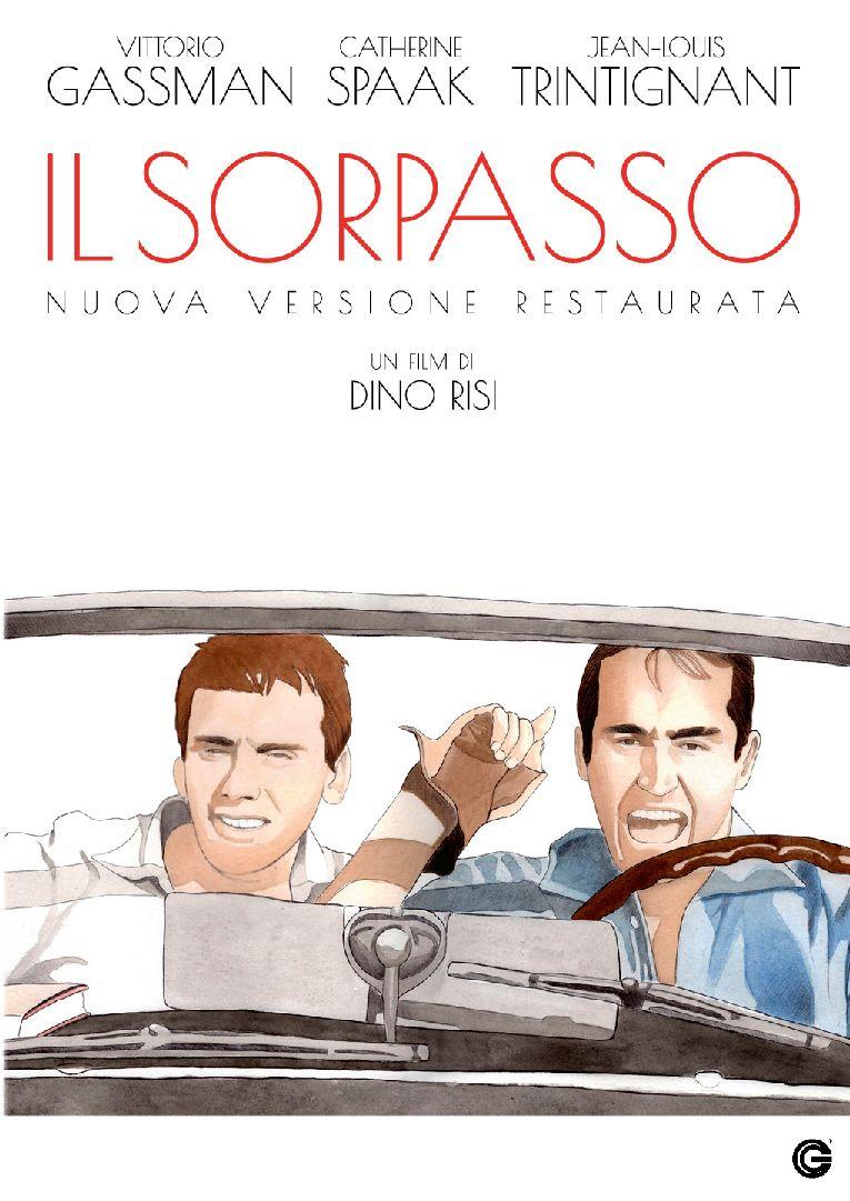 Cover Dvd DVD Il sorpasso