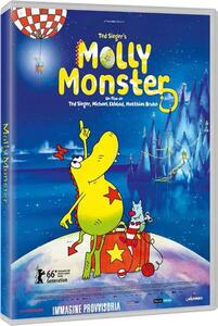 Molly Monster (DVD) di Ted Sieger,Matthias Bruhn,Michael Ekbladh - DVD