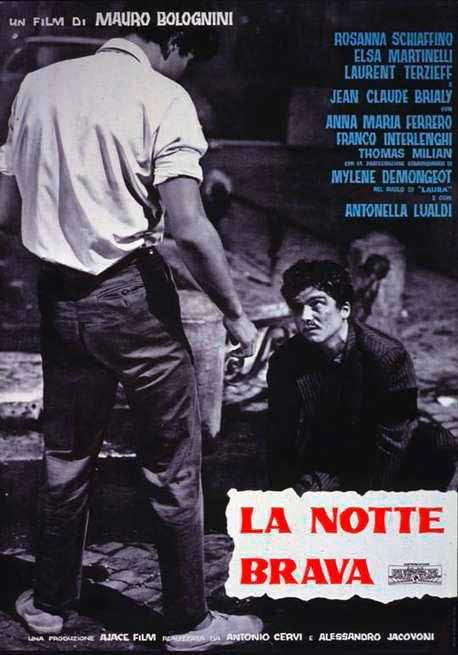 Cover Dvd DVD La notte brava