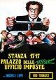 Cover Dvd Stanza 17-17, palazzo delle tasse, ufficio imposte