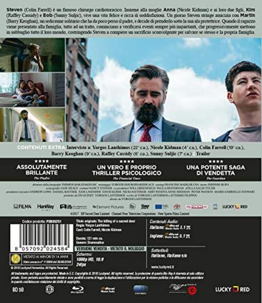 Il sacrificio del cervo sacro (Blu-ray) di Yorgos Lanthimos - Blu-ray - 2