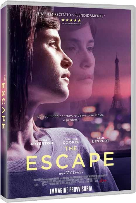 Cover Dvd DVD The Escape
