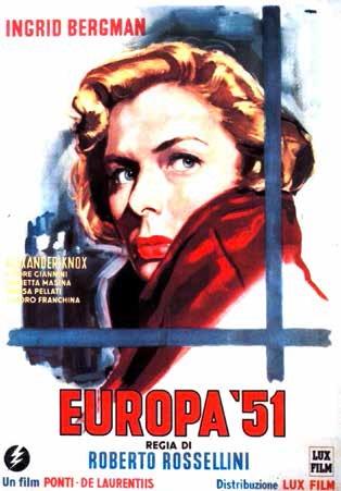 Cover Dvd DVD Europa '51