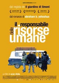 Cover Dvd Il responsabile delle risorse umane (DVD)