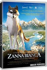 Cover Dvd Zanna bianca (Blu-ray)