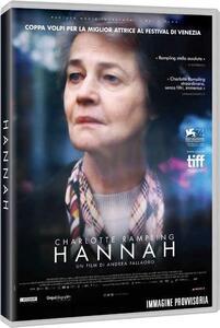 Hannah (DVD) di Andrea Pallaoro - DVD