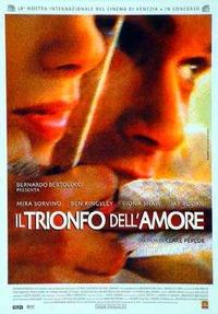 Cover Dvd Il trionfo dell'amore (DVD)