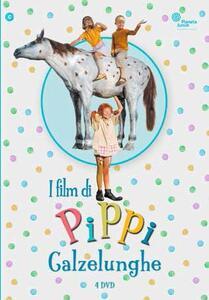 I film di Pippi Calzelunghe (4 DVD) di Olle Hellbom - DVD