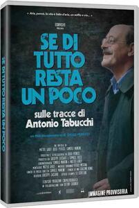 Se di tutto resta un poco. Sulle tracce di Tabucchi (DVD) di Diego Perucci - DVD