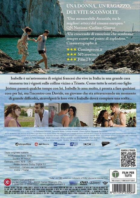 Isabelle (DVD) di Mirko Locatelli - DVD - 2