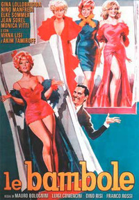Cover Dvd Le bambole (DVD)