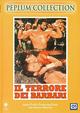 Cover Dvd DVD Il terrore dei barbari