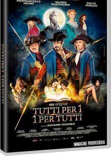 Tutti per uno, uno per tutti (DVD) di Giovanni Veronesi - DVD