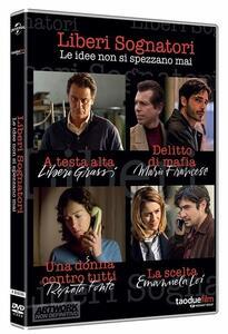 Film Liberi sognatori. Stagione 1. Serie TV ita (4 DVD) Graziano Diana Michele Alhaique Stefano Mordini Fabio Mollo