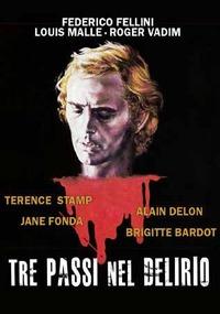 Cover Dvd Tre passi nel delirio (DVD)