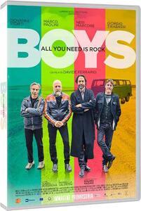 Film Boys. All You Need Is Rock (DVD) Davide Ferrario