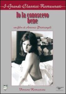 Io la conoscevo bene di Antonio Pietrangeli - DVD