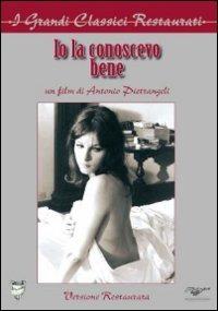 Cover Dvd Io la conoscevo bene (DVD)