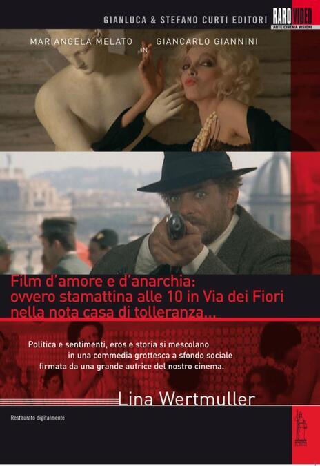 Film d'amore e d'anarchia: ovvero stamattina alle 10 in via dei Fiori nella... di Lina Wertmüller - DVD