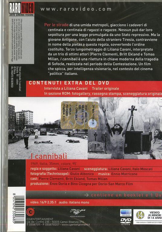 I cannibali di Liliana Cavani - DVD - 2