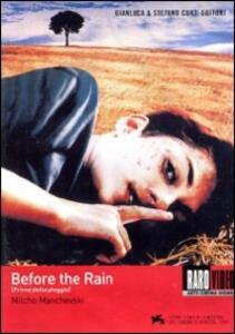 Prima della pioggia di Milcho Manchevski - DVD