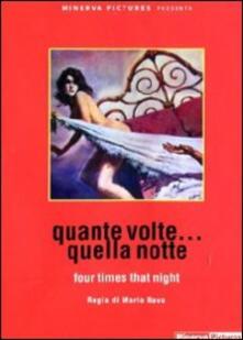 Quante volte... quella notte di Mario Bava - DVD
