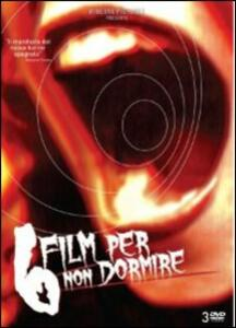 6 film per non dormire (3 DVD) di Jaume Balaguerò,Alex De La Iglesia,Mateo Gil,Narciso Ibanez Serrador,Paco Plaza,Enrique Urbizu