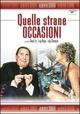 Cover Dvd DVD Quelle strane occasioni