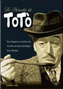 Le parodie di Totò (3 DVD) di Ottavio Alessi,Sergio Corbucci,José Antonio De la Loma