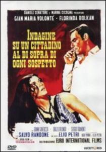 Indagine su un cittadino al di sopra di ogni sospetto di Elio Petri - DVD
