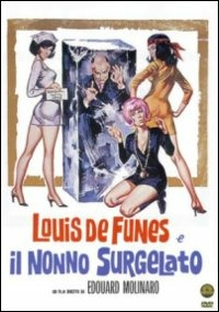 Cover Dvd Louis De Funès e il nonno surgelato (DVD)
