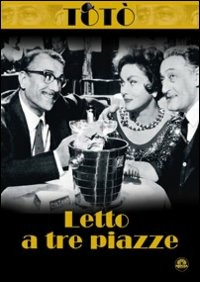 Cover Dvd Letto a tre piazze (DVD)
