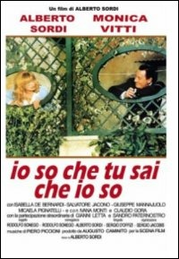 Cover Dvd Io so che tu sai che io so (DVD)