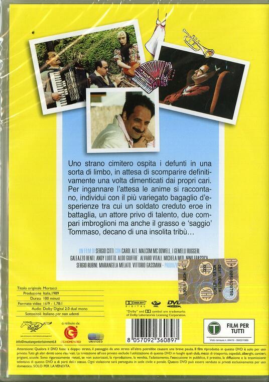 Mortacci di Sergio Citti - DVD - 2