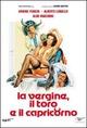 Cover Dvd DVD La vergine, il toro e il capricorno