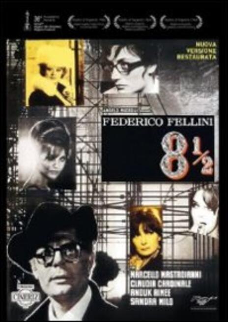 8 1/2 di Federico Fellini - DVD