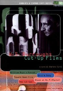 W. S. Burroughs. Cut-Up Films (2 DVD) di Anthony Balch,William Burroughs