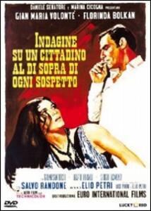 Indagine su un cittadino al di sopra di ogni sospetto (2 DVD) di Elio Petri - DVD