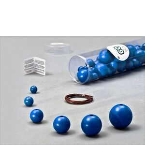 Giocattolo Blue Wooden Balls blu. 60 pezzi, 6 Misure Milaniwood 0