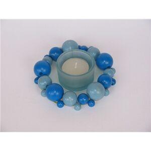 Foto di Blue Wooden Balls blu. 60 pezzi, 6 Misure, Giochi e giocattoli 4